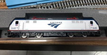 KATO N規 ACS64 AMTRAK 西門子電力車頭模型 DC版 車號 #648