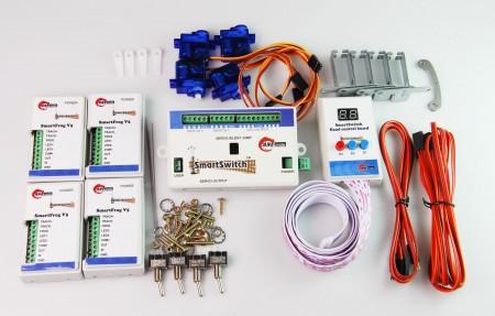 A002 鐵道模型慢速岔軌扳道器 DIY 岔心控制基本組