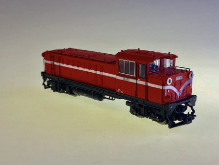 HOe規 阿里山第六代DL內燃車頭 DL-41