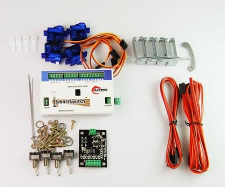 A009 鐵道模型慢速岔軌扳道器 DIY 數位控制基本組 (無編輯器)