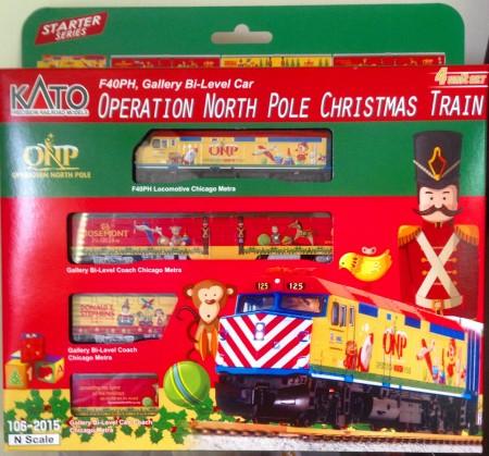 KATO 1/150 N規北極聖誕列車套裝