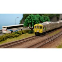 N scale TRA DR2700 diesel express train set Yellow scheme (Two motor railcar)  DCC version