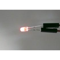 LED ψ3 插件式 LED燈泡 紅色