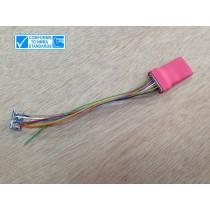 LC206 LC標準型HO比例適用數位行車晶片 (8針形式) 4個功能輸出