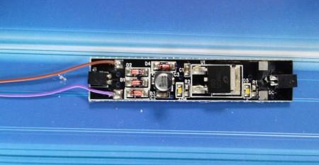 DL006CA N internal lighting board narrow (cool white)
