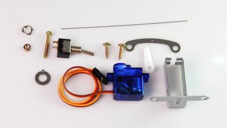 AP002 鐵道模型慢速岔軌扳道器 DIY 專用 單一伺服機 (含固定配件)