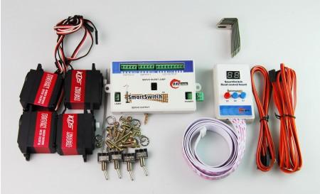 A005 鐵道模型慢速岔軌扳道器 DIY 大比例專用套裝組