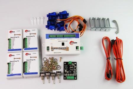 A010 鐵道模型慢速岔軌扳道器 DIY 完整套裝基本組 (無編輯器)
