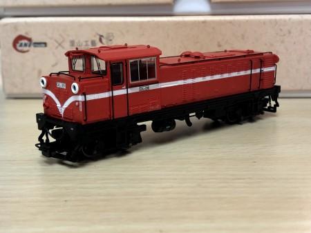 Ali-Shan forest railway sixth generation diesel locomotive  #DL-39