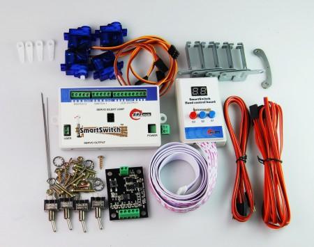 A003 鐵道模型慢速岔軌扳道器 DIY 數位控制基本組