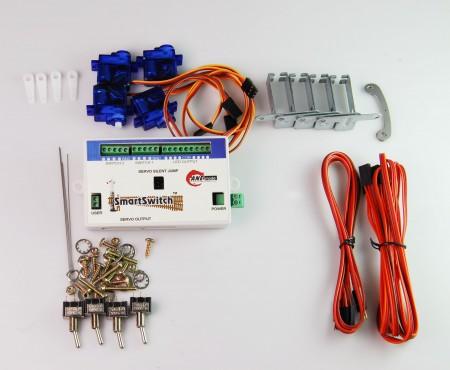 A007 鐵道模型慢速岔軌扳道器 DIY 基本組 (無編輯器)