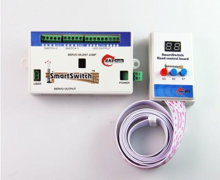 AP001 鐵道模型慢速岔軌扳道器 DIY 主控制盒