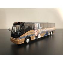 1/87 MCI J4500 豪華巴士靜態模型 貓王彩繪