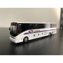 1/87 VanHool CX-45 豪華巴士靜態模型 美國客車彩繪