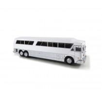1/87 1984 MCI MC-7 FREIGHTER 豪華巴士 未塗裝 白底