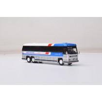 1/87 1984 MCI MC-9: 豪華巴士 GREYHOUND AMERICRUISER 灰狗塗裝