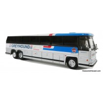 1/87 1984 MCI MC-9: 豪華巴士 GREYHOUND CANADA 灰狗塗裝