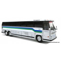 1/87 1984 MCI MC-9: 豪華巴士 VOYAGEUR COLONIAL QUEBEC EXPRESS 塗裝