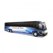 1/87 MCI D4505 通勤巴士靜態模型 JEFFERSON LINES塗裝