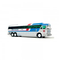 1/87 1984 MCI MC-7 FREIGHTER 豪華巴士 GREYHOUND CANADA GPX PACKAGE EXPRESS 灰狗塗裝