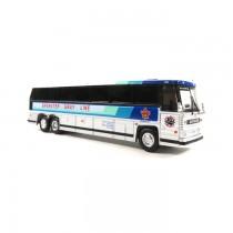 1/87 1984 MCI MC-9: 豪華巴士 BREWSTER GRAY LINE 塗裝