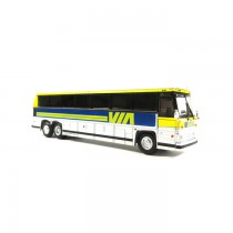 1/87 1984 MCI MC-9: 豪華巴士 VIA RAIL CANADA 塗裝