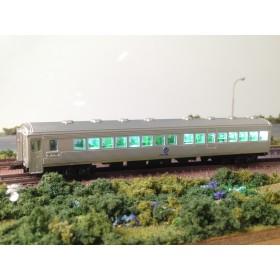 N規 1/150 台鐵DR2750無動力拖車 模型 (無 黃色注意架空線標籤)